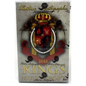 2018 Historic Autographs Kings Series 2 Multi-Sport 4 Box Case