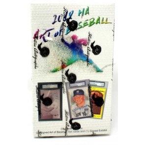 2018 Historic Autographs The Art of Baseball 10 Box Case
