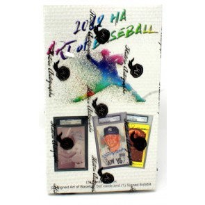 2018 Historic Autographs The Art of Baseball Box
