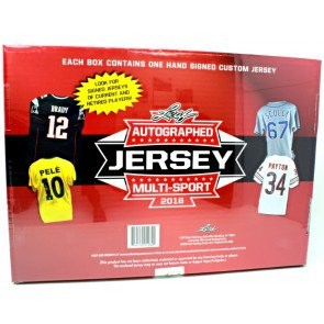 2018 Leaf Autographed Jersey Multi-Sport Edition 8 Box Case