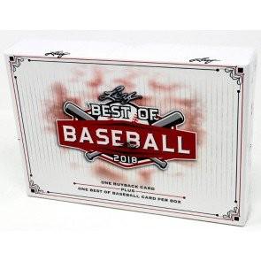2018 Leaf Best of Baseball 10 Box Case