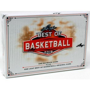 2018 Leaf Best of Basketball 10 Box Case