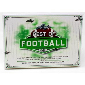 2018 Leaf Best of Football 10 Box Case