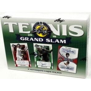 2018 Leaf Grand Slam Tennis 10 Box Case