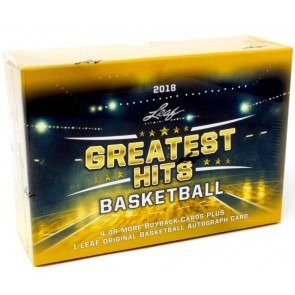 2018 Leaf Greatest Hits Basketball 2 Box Case