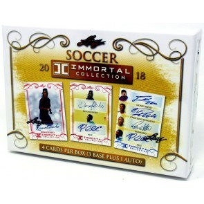 2018 Leaf Immortal Collection Soccer 4 Box Case