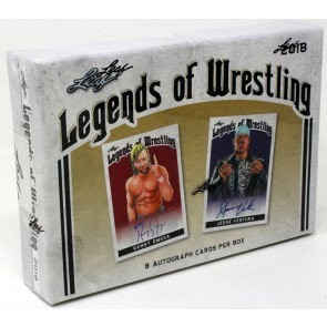 2018 Leaf Legends of Wrestling Hobby 12 Box Case