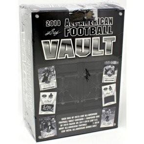 2018 Leaf US Army All-American Football Vault Box