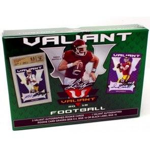 2018 Leaf Valiant Football Hobby Box