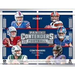 2018 Panini Contenders Football Hobby 12 Box Case