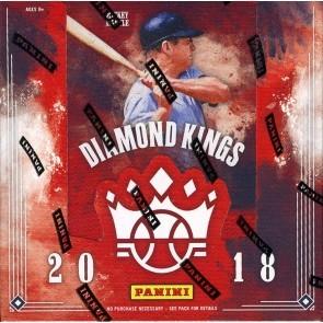 2018 Panini Donruss Diamond Kings Baseball Hobby 24 Box Case
