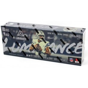2018 Panini Luminance Football Hobby 12 Box Case