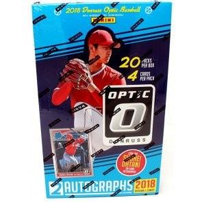 2018 Panini Donruss Optic Baseball Hobby 12 Box Case