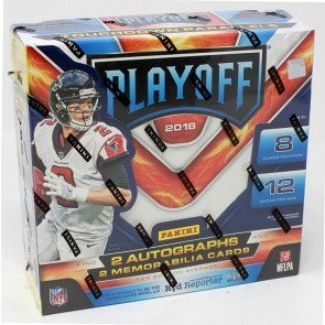 2018 Panini Playoff Football Hobby 20 Box Case