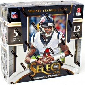 2018 Panini Select Football Hobby 12 Box Case