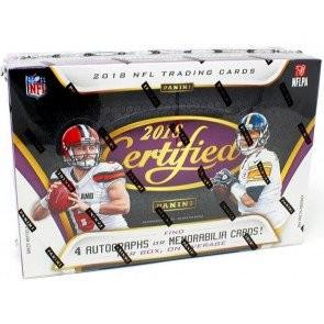 2018 Panini Certified Football Hobby Box