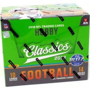 2018 Panini Classics Football Hobby 20 Box Case