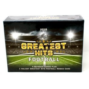 2018 Leaf Greatest Hits Football Hobby 2 Box Case