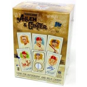 2018 Topps Allen & Ginter Baseball Blaster 16 Box Case