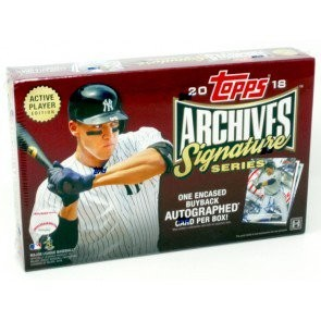 2018 Topps Archives Signature Series Baseball Box