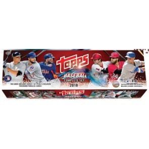 2018 Topps Complete Baseball Factory Set - Hobby 12 Set Case