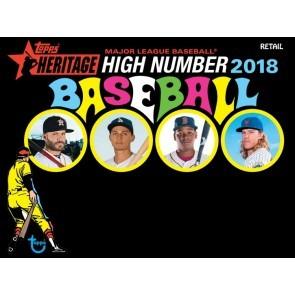 2018 Topps Heritage High Number Baseball Blaster 16 Box Case