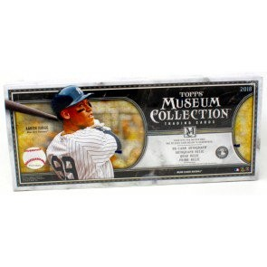 2018 Topps Museum Collection Baseball Hobby 12 Box Case