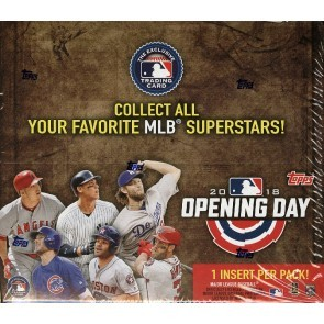 2018 Topps Opening Day Baseball Hobby 20 Box Case