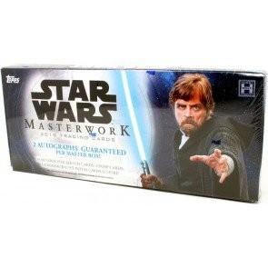 2018 Topps Star Wars Masterwork Hobby Box