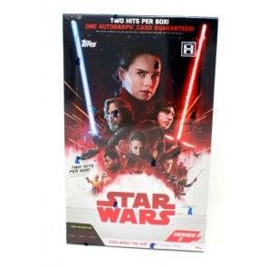 2018 Topps Star Wars The Last Jedi - Series 2 Hobby 12 Box Case
