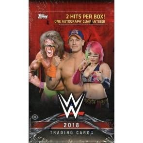 2018 Topps WWE Wrestling Hobby 12 Box Case