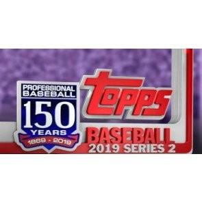 2019 Topps Series 2 Baseball Jumbo 6 Box Case + 12 Silver Packs