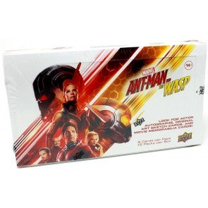2018 Upper Deck Marvel Ant-Man and the Wasp Trading Cards 16 Box Case