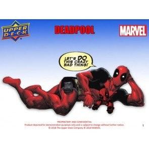 2018 Upper Deck Marvel Deadpool Hobby 12 Box Case