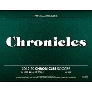 2019/20 Panini Chronicles Soccer Hobby 12 Box Case