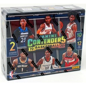 2019/20 Panini Contenders Basketball 1st Off The Line Hobby Box