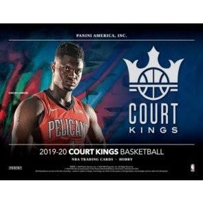 2019/20 Panini Court Kings Basketball Hobby 16 Box Case