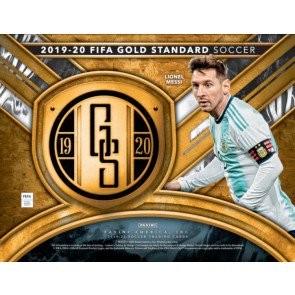 2019/20 Panini Gold Standard Soccer Hobby 12 Box Case