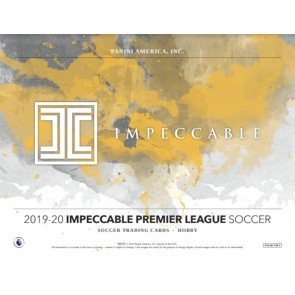2019/20 Panini Impeccable Soccer Hobby 3 Box Case