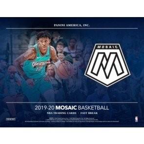 2019/20 Panini Mosaic Basketball Fast Break 20 Box Case