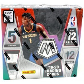 2019/20 Panini Mosaic Basketball Tmall Edition Box