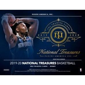 2019/20 Panini National Treasures Basketball Hobby 4 Box Case
