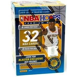 2019/20 Panini Hoops Premium Stock Basketball Blaster Box