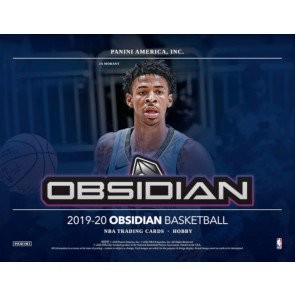 2019/20 Panini Obsidian Basketball Hobby Box