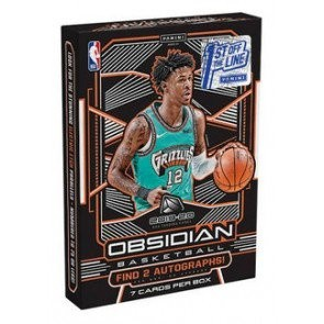 2019/20 Panini Obsidian Basketball 1st Off The Line Hobby Box