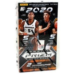 2020/21 Panini Prizm Draft Picks Collegiate Basketball Fast Break Box