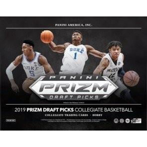 2019/20 Panini Prizm Collegiate Draft Picks Basketball Hobby 16 Box Case