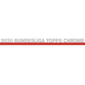 2019/20 Topps Chrome Bundesliga Soccer Hobby 12 Box Case