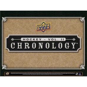 2019/20 Upper Deck Chronology Hockey Volume II Hobby 8 Box Case