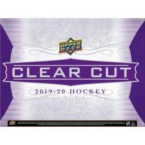 2019/20 Upper Deck Clear Cut Hockey Hobby Box